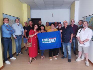 Si è costituito il Circolo di Italexit per l'Italia con Paragone della Città di Vittoria