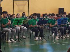 Saggio musicale dell'Istituto Berlinguer, alla presenza del Sindaco e dell'assessore Iacono