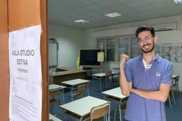 Aula studio per gli studenti universitari a Marina di Ragusa, per il terzo anno sede nuova