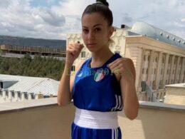 Graziella Schininà in finale agli Europei di boxe