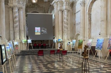 """Ragusa Ibla, inaugurata la seconda edizione di """"Terra"""" del Maestro Giovanni Pace"""