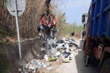 Ancora rifiuti rimossi dal Libero Consorzio dei Comuni
