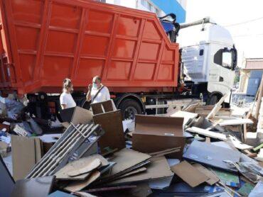 Continua l'azione di raccolta rifiuti del Libero consorzio dei Comuni